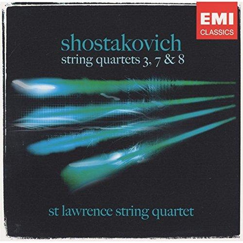 Dmitri Shostakovich - String Quartets No. 3, 7 And 8 (St. Lawrence String Quartet)