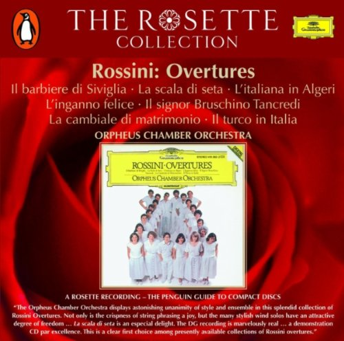Orpheus Chamber Orchestra - Rossini Overtures By Orpheus Chamber Orchestra