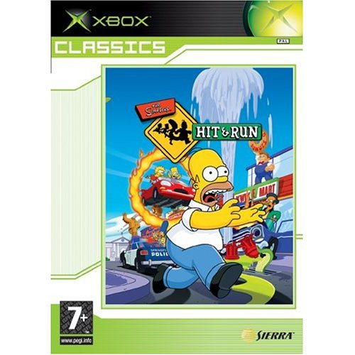 The Simpsons: Hit and Run - Best of Classics (Xbox)