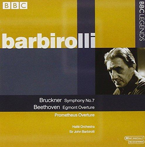 Bruckner: Symphony No 7; Beethoven: Egmont Overture