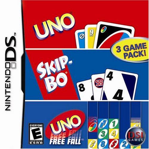 Nintendo Ds - Uno Skip Bo Uno Freefall Nds