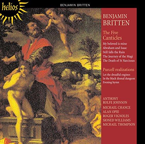 Benjamin Britten - Five Canticles, The (Johnson, Vignoles, Chance, Opie)