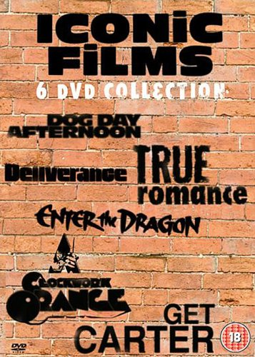 Iconic Films Collection : Dog Day Afternoon / Deliverance / True Romance / Enter The Dragon / A Cloc