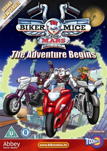 Biker Mice from Mars: The Adventure Begins