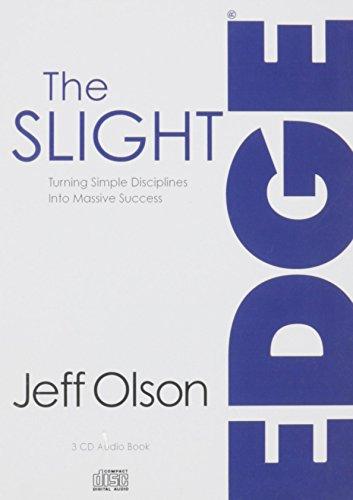 The Slight Edge (abridged) 3 Audio CD book (Secret to a Successful Life)