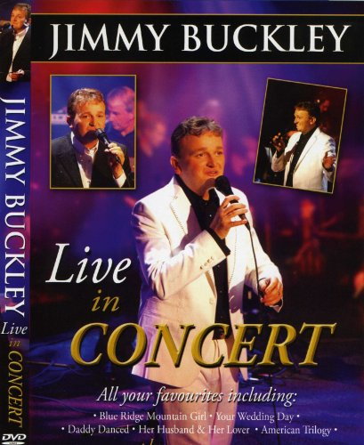 Jimmy Buckley Live in Concert Dvd