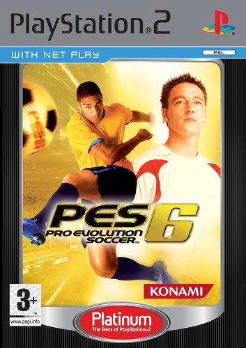Pro Evolution Soccer 6 - Pro Evolution Soccer 6 Platinum (PS2)
