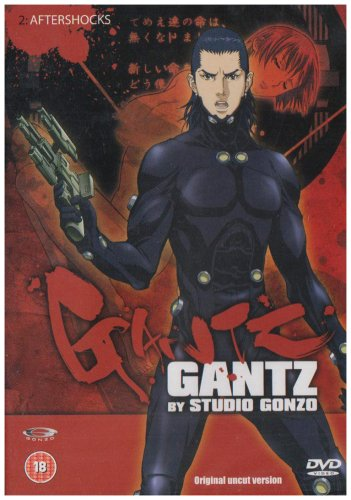 Gantz-Vol-2-DVD-CD-UOVG-FREE-Shipping
