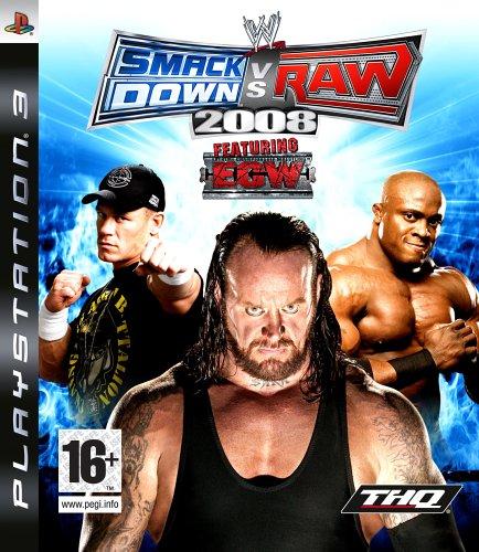 SmackDown Vs Raw 2008 (PS3)