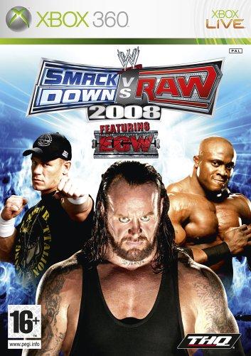 SmackDown Vs Raw 2008 (Xbox 360)