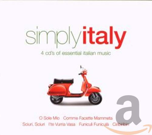 Simply Italy - 4 Cd's of Essential Italian Music By Various Composers