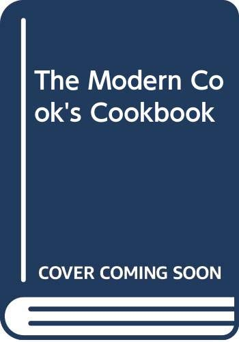 The Modern Cook's Cookbook By Kathy Man