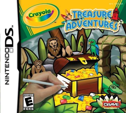 Nintendo Ds - Crayola Treasure / Game