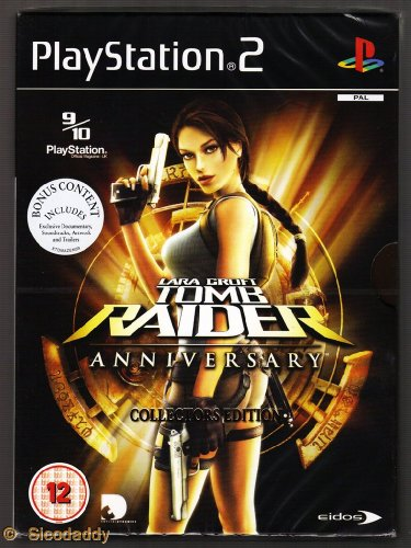 Lara Croft Tomb Raider Anniversary Collector's Edition Game PS2