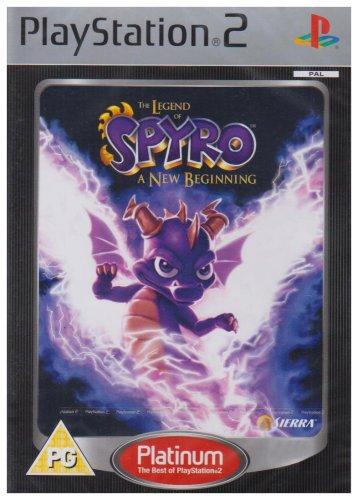 The Legend of Spyro: A New Beginning - Platinium (PS2)