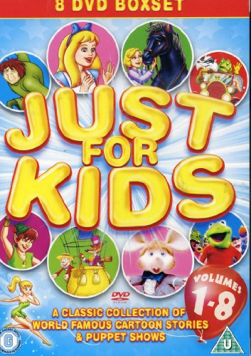 Just-For-Kids-Children-039-s-Bumper-DVD-Box-CD-D2VG-FREE-Shipping