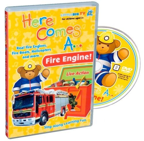 Here-Comes-A-Fire-Engine-DVD-CD-G6VG-FREE-Shipping
