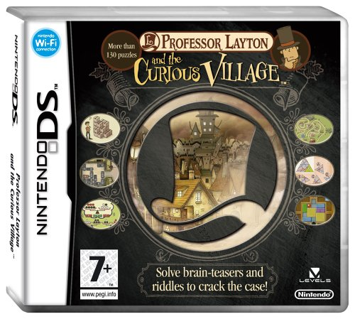 Nintendo Ds - Professor Layton and The Curious Village (Nintendo DS)