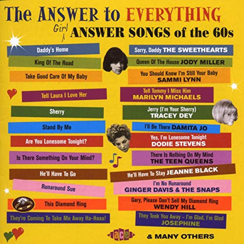 Various Artists - The Answer To Everything: Girl Answer Songs Of The 60s By Various Artists