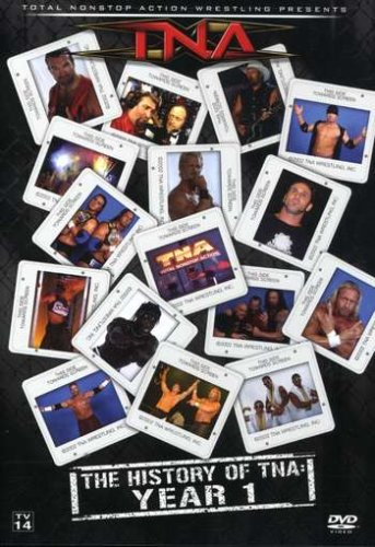 Tna-Wrestling-The-History-of-TNA-Year-1-2007-DVD-Tna-Wrestling-CD-ZEVG