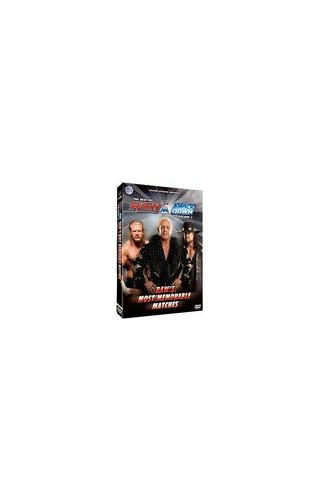 Wwe-Raw-Most-Memorable-Matches-DVD-CD-I6VG-FREE-Shipping