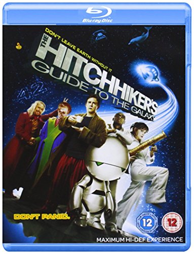 The-Hitchhiker-039-s-Guide-To-The-Galaxy-DVD-CD-NYVG-FREE-Shipping