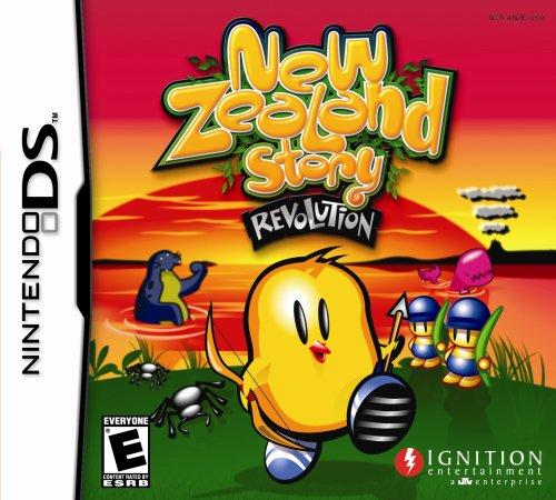 Nintendo Ds - New Zealand Story: Revolution / Game