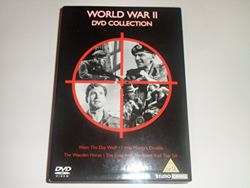 WORLD WAR II DVD COLLECTION - WENT THE DAY WELL,I WAS MONTY'S DOUBLE,THE WOODEN HORSE,THE LONG AND T