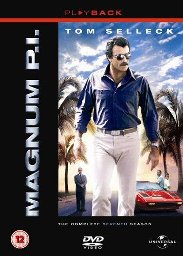 Magnum-Pi-The-Complete-Seventh-Season-DVD-CD-I0VG-FREE-Shipping