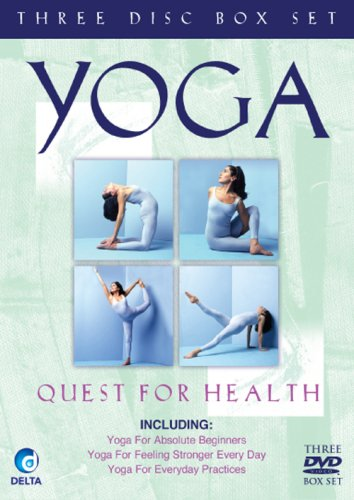 Yoga-Quest-For-Health-2008-DVD-CD-0GVG-FREE-Shipping