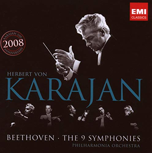 Herbert von Karajan - Beethoven: The 9 Symphonies By Herbert von Karajan