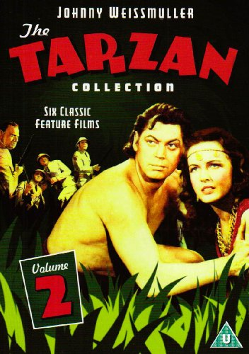 Tarzan Collection Vol. 2 - Triumphs / Desert Mystery / The Amazons / Leopard Woman / Huntress / The