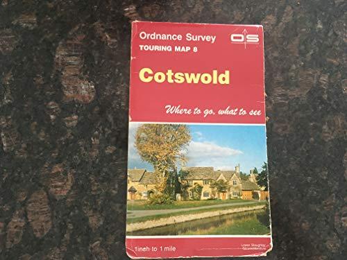 Ordnance Survey Tourist Map 8 Cotswold By Ordnance Survey