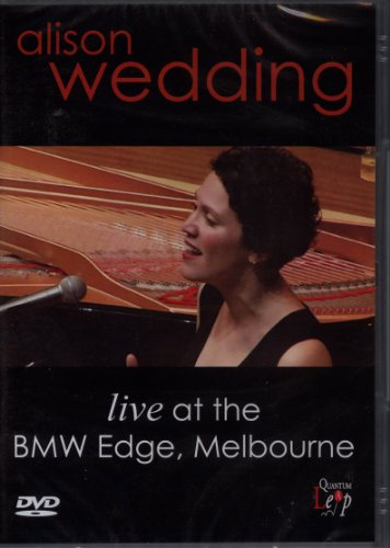 Alison-Wedding-Live-In-Melbourne-DVD-CD-MYVG-FREE-Shipping