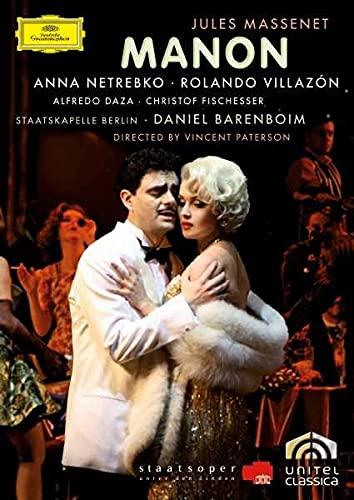 Massenet: Manon (Barenboim, Netrebko, Villazon)