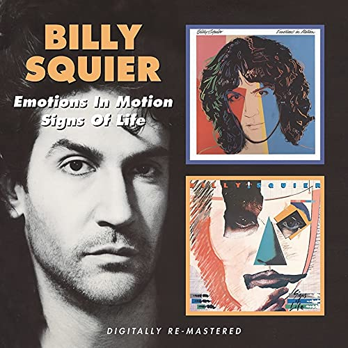 Billy Squier - Emotions In Motion / Signs Of Life By Billy Squier