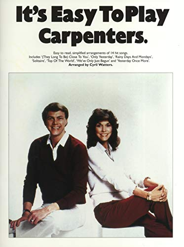 It's Easy To Play The Carpenters By Cyril Watters
