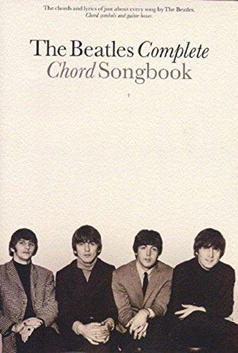 The Beatles Complete Chord Songbook By Beatles