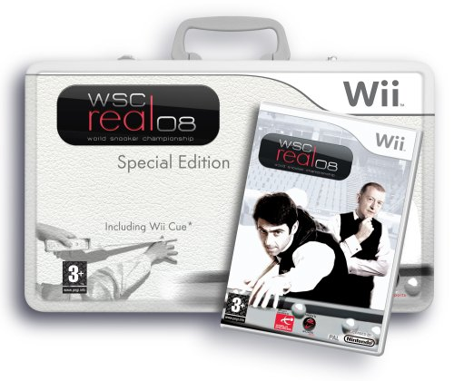 WSC Real: 2008 world snooker championship Collectors Tin (Wii)