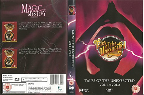 Tales-of-the-Unexpected-Vol-1-amp-Vol-2-CD-6WVG-FREE-Shipping