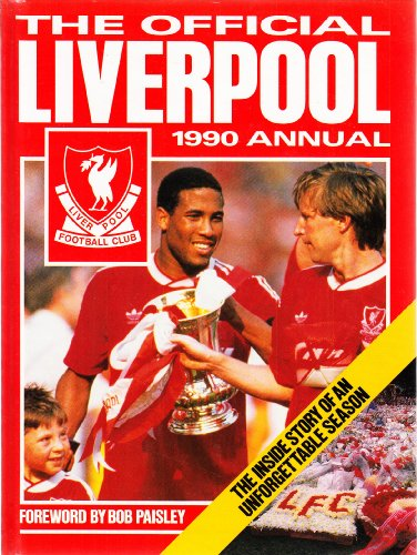 The Official Liverpool 1990 Annual Volume editor Stan Liversedge