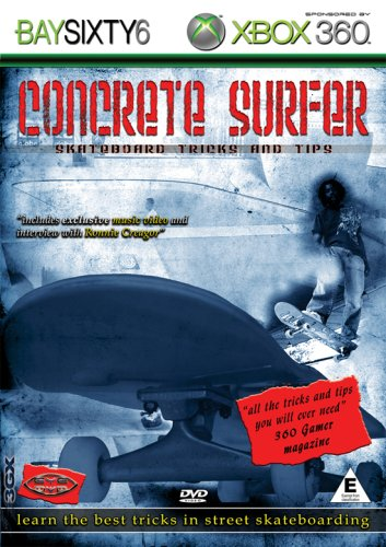 Concrete-Surfer-Skateboard-Tricks-And-Tips-DVD-CD-ZQVG-FREE-Shipping