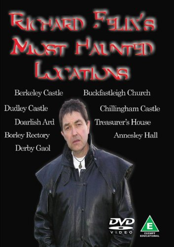 Richard-Felix-039-s-Most-Haunted-Locations-DVD-CD-GOVG-FREE-Shipping