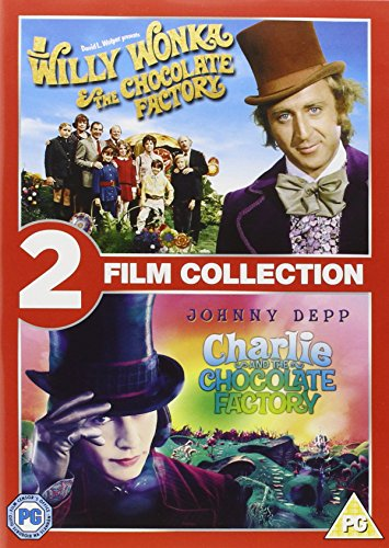 Willy Wonka And The Chocolate Factory / Charlie And The Chocolate Factory (2 Disc Box Set)  [20