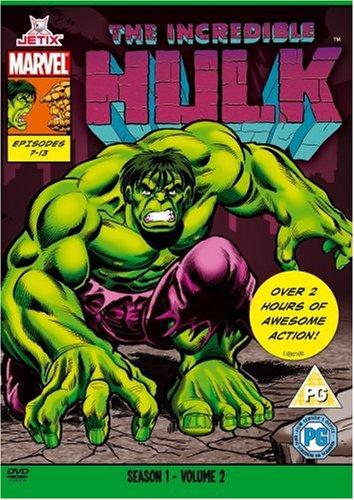 The Incredible Hulk - The Incredible Hulk - Season One Part Two (Marvel Originals Series - 90s) [DVD