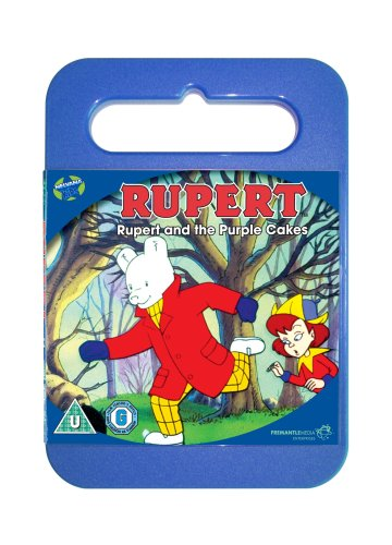 Rupert-and-the-Purple-Cakes-DVD-CD-Q8VG-FREE-Shipping
