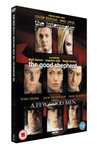 The-Good-Shepherd-The-Interpreter-A-Few-Good-Men-DVD-CD-EYVG-FREE-Shipping