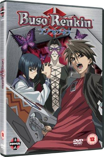 Buso-Renkin-Vol-1-DVD-CD-JAVG-FREE-Shipping