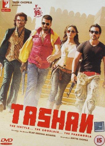 Tashan 2008 Comedy Hindi Film Bollywood Movie Indian Cinema DVD NTSC