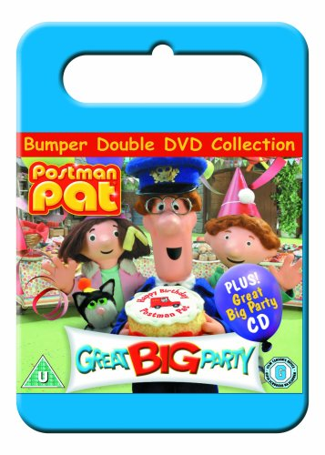 Postman-Pat-Great-Big-Party-DVD-CD-X4VG-FREE-Shipping